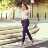 OpenStyle Jean AD #lifestyle #mode #modefrance #aixenprovence #jeans #lingerie