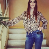 Juste in faded blue... #avoliodesign #lifestyle  #girlpower  #jeans  #lingerie