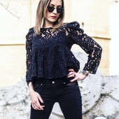 Open Style Jeans AD - Black #jeans #resille #mode #girlpower