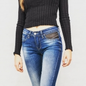Open Style Jeans #avoliodesign #lifestyle  #girlpower #jeans  #lingerie