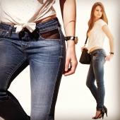 Open Style Jeans AD #avoliodesign #mode #paris #lingerie #jeans