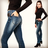 Open Style Jeans AD #mode #paris #avoliodesign #jean #openstyle
