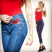 Open Style Jeans AD #mode #paris #avoliodesign #openstyle #jeans